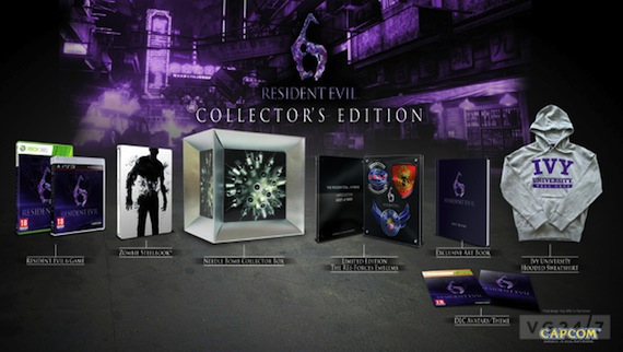 'Resident Evil 6: Collector's Edition' Detailed