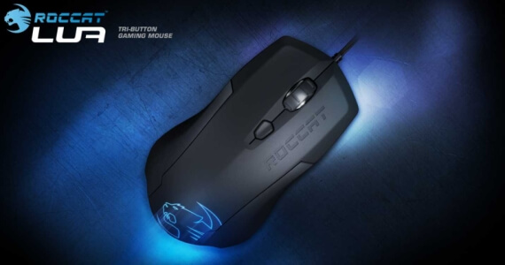 Roccat Lua Tri-Button Gaming Mouse Review