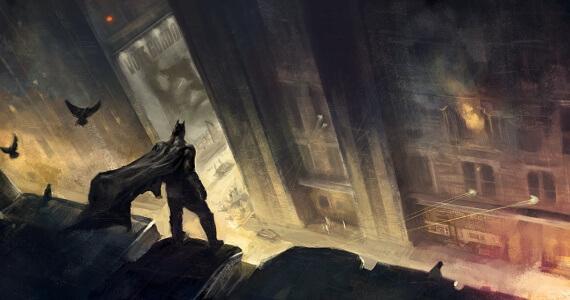 Rocksteady Batman Gotham City