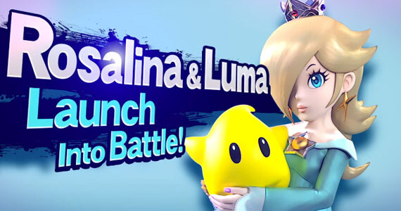 Rosalina Launches into 'Super Smash Bros. for Wii U' & '3DS'
