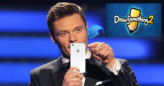 'Draw Something 2' Unveiled By... Ryan Seacrest?