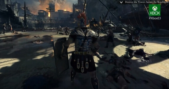 'RYSE: Son of Rome' Announced for Xbox One
