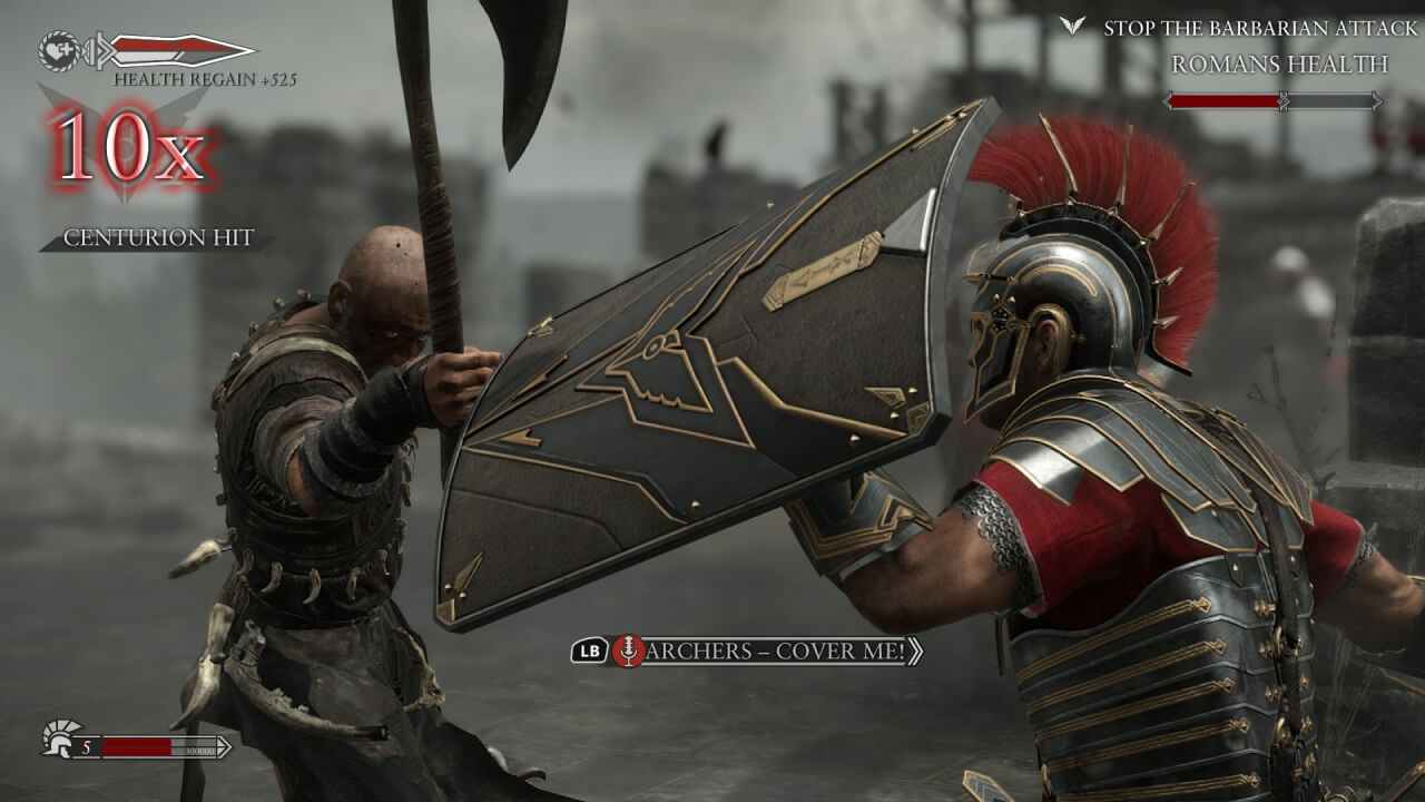 'Ryse: Son of Rome' Gameplay Videos Show Off Combat