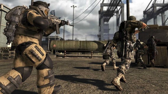 SOCOM 4 Multiplayer - Bomb Squad