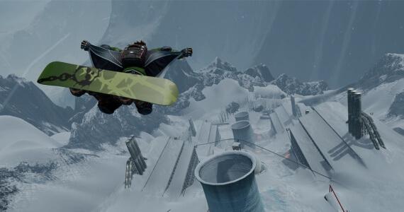 SSX Siberia Wingsuit