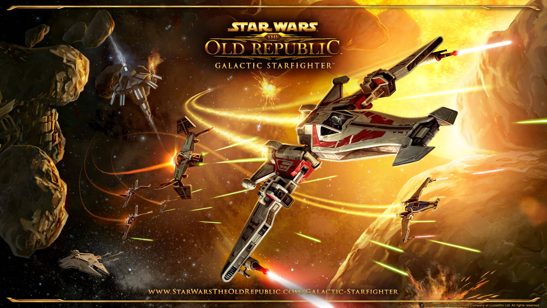 'Star Wars: The Old Republic' Adding Space Sim Gameplay With 'Galactic Starfighter' Expansion