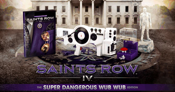 Gamers Will Wub Wub 'Saints Row 4's Collector's Edition
