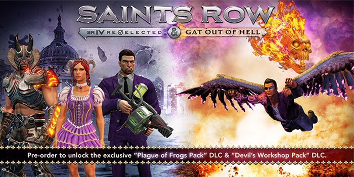 Saints Row: Gat Out of Hell & Re-elected