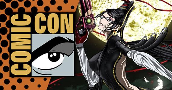 San Diego Comic Con 2014 Nintendo Bayonetta Anime