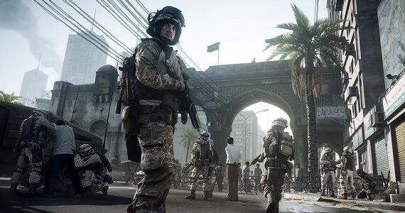 Screen from 'Battlefield 3'
