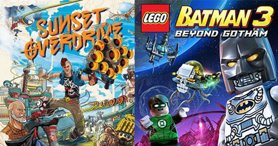 Season Passes Announced for 'Sunset Overdrive', 'LEGO Batman 3′