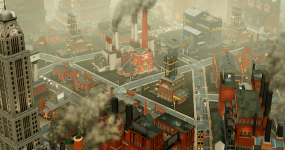 SimCity E3 2012 Impressions Industrial City Maxis Electronic Arts