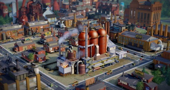Simcity Reviews Gameplay Factory
