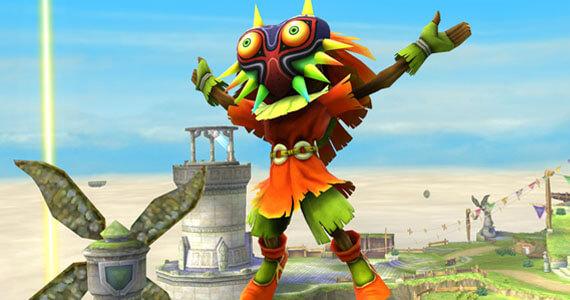 Skull Kid Joins 'Super Smash Bros.' As Assist Trophy