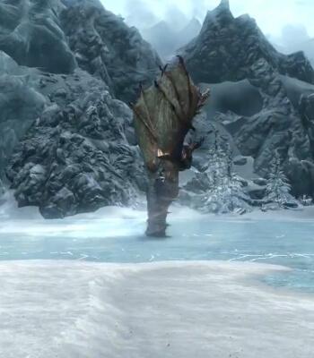Skyrim Dawnguard Drain Vitality Shout