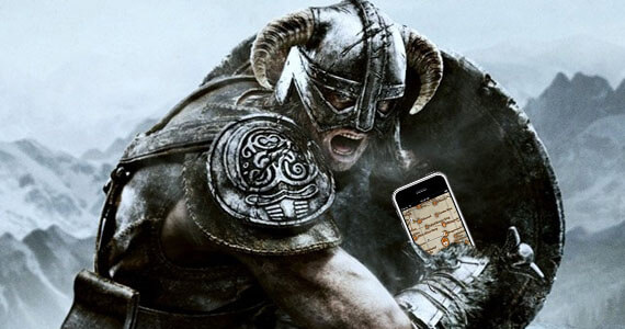 'Skyrim' Dragon Shout App Just Screams Helpful