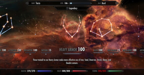 'Skyrim' Update 1.9 Adds Legendary Difficulty, Removes Skill Level Cap