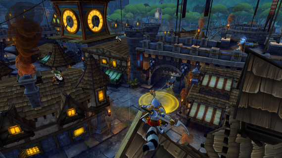 Sly Cooper: Thieves in Time Europe
