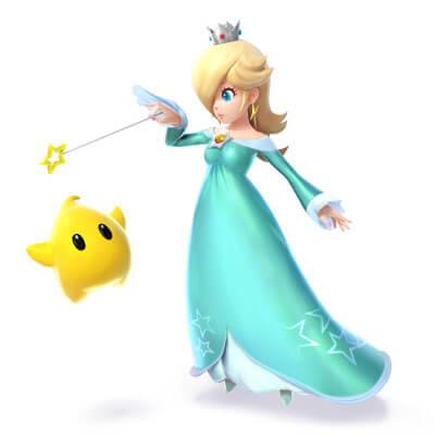 Smash Bros Wii U 3DS Rosalina