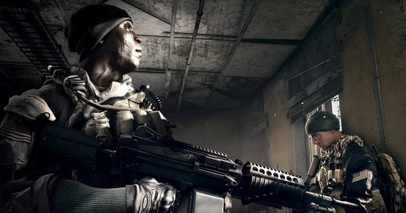 Soldiers in 'Battlefield 4'