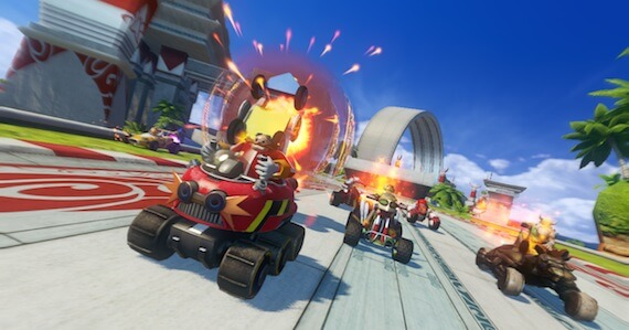 Sonic All Stars Racing Transformed Review - Gameplay