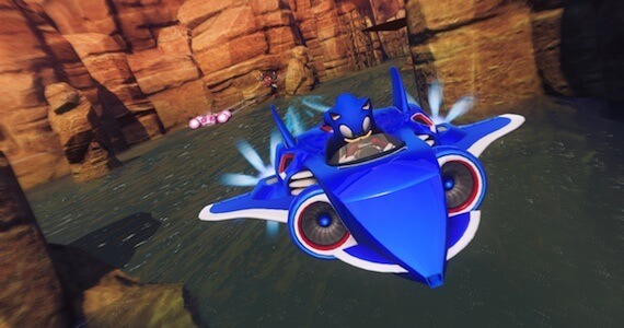 Sonic All Stars Racing Transformed Review - Transform Ability