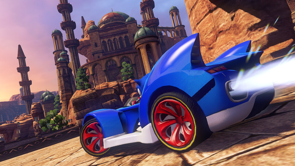 'Sonic & All-Stars Racing Transformed' Debut Trailer & Screenshots