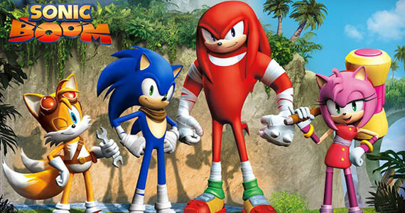'Sonic Boom' TV Show & Game Announced