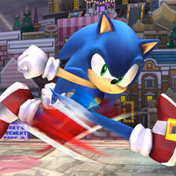 Sonic and Tails in Super Smash Bros Melee