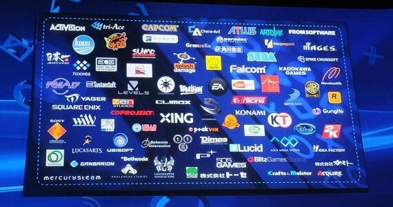 Sony Revises List of PS4 EU Developers; Slashed from 53 to 28