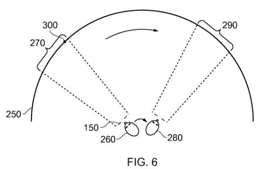 Sony VR Headset Patent