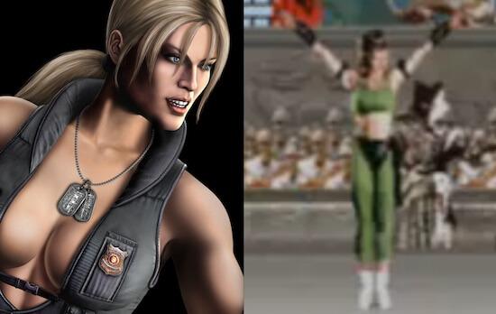 Sonya Blade in Mortal Kombat