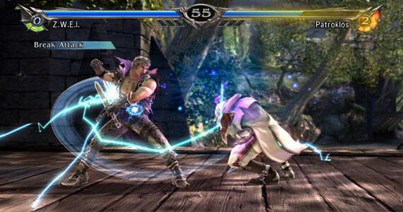 Soul Calibur 5 Fight