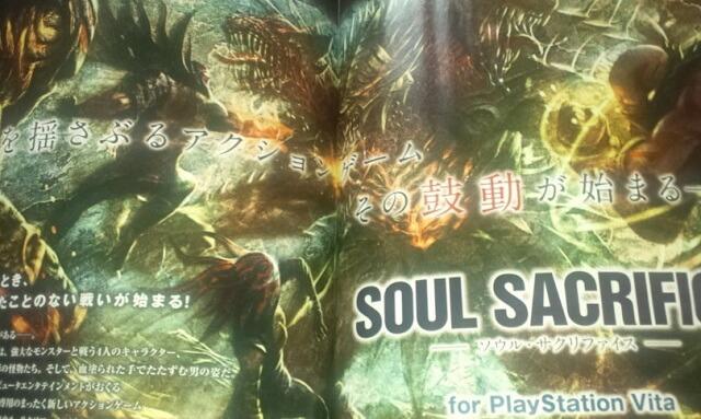 New Vita Game 'Soul Sacrifice' Revealed By Famistu