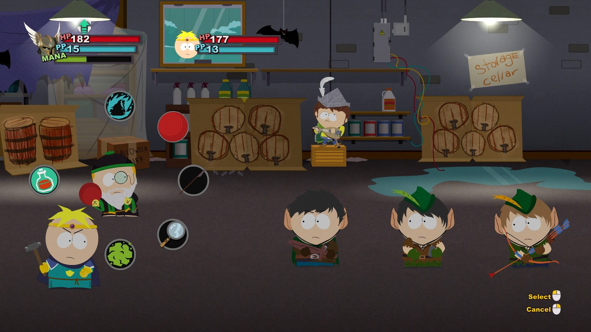 First 30 Minutes of 'South Park: The Stick of Truth' Gameplay