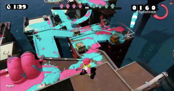 'Splatoon' Brings Nintendo's Take on Competitive Shooters to Wii U in 2015