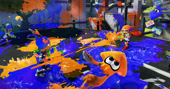 Splatoon Split Screen Multiplayer