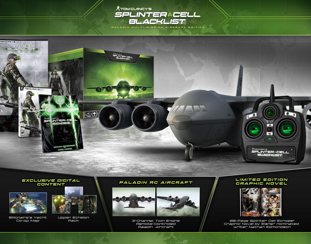 'Splinter Cell Blacklist' Collector's Edition Unveiled