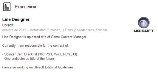 Splinter Cell Blacklist Wii U Resume