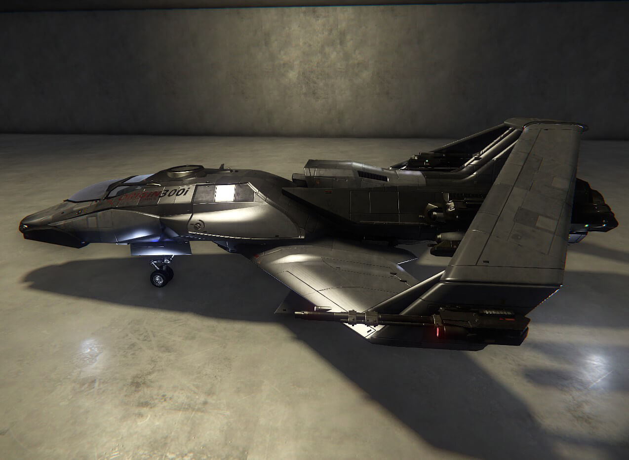 Check Out Our 'Star Citizen' Ship In The Hangar Module!