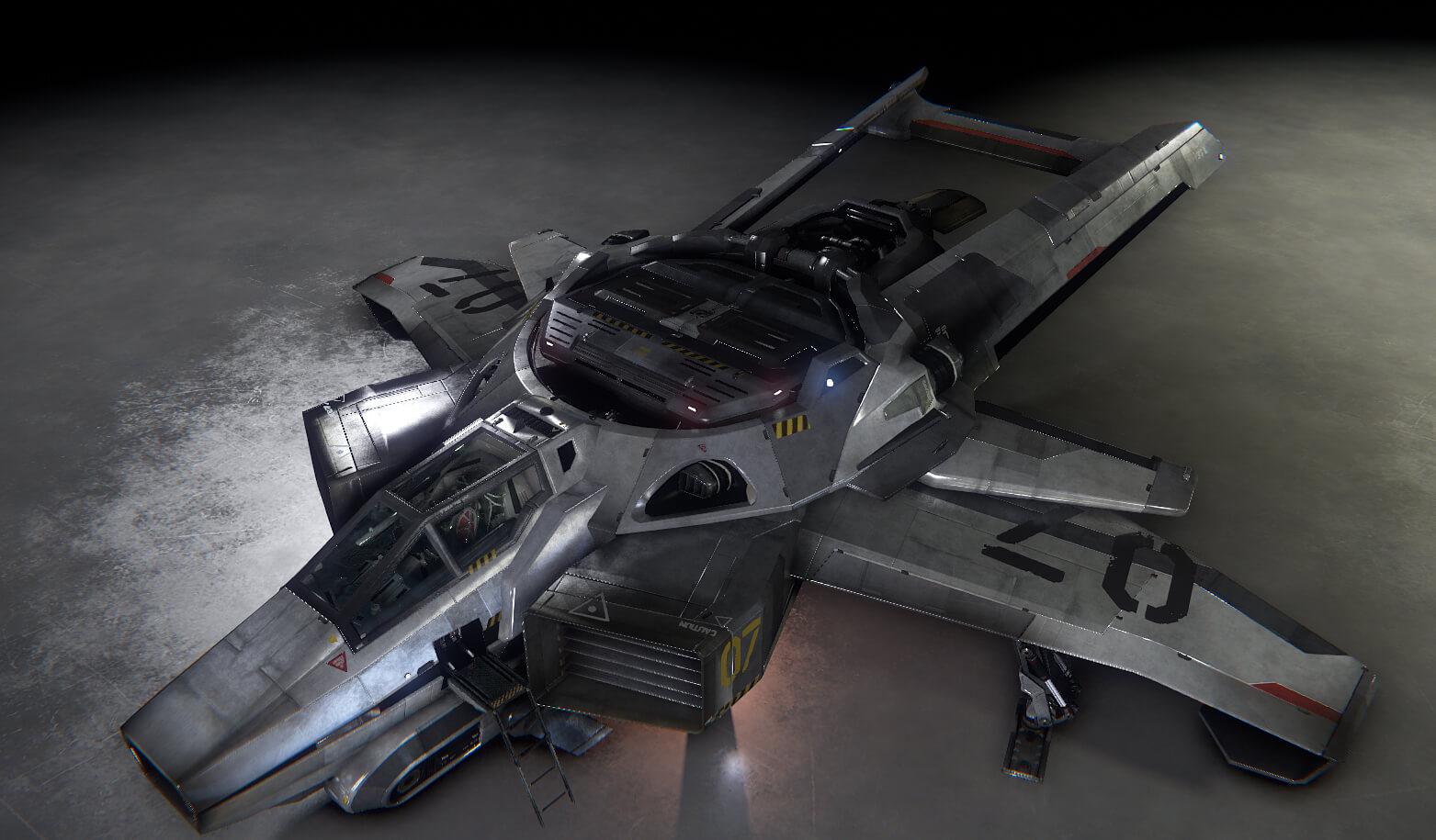 Enemy Starfighter & Star Citizen