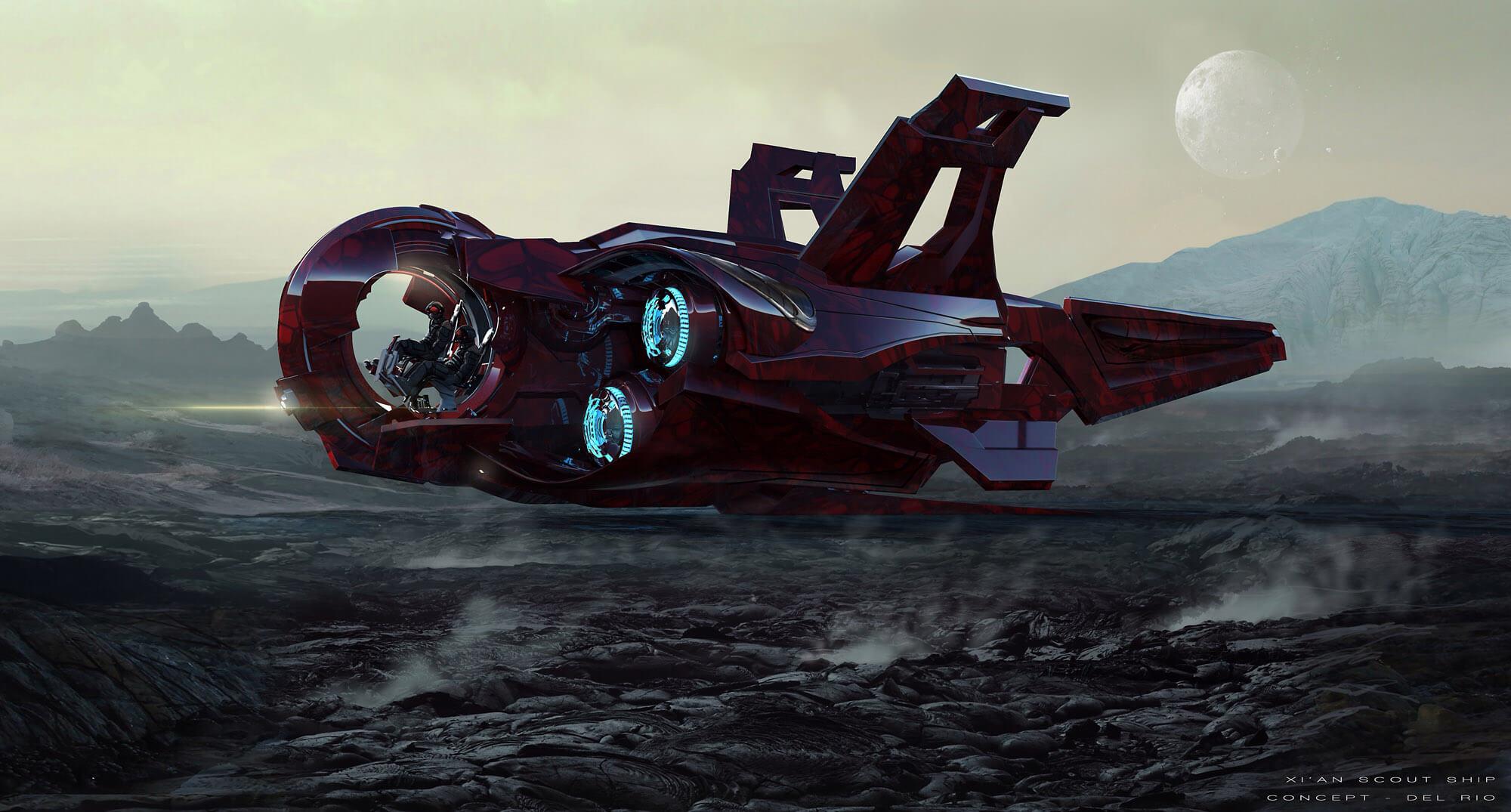 Star Citizen Hits $47 Million & Gets Alien Ship