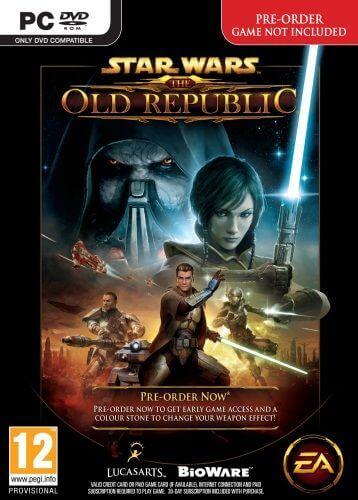 Star Wars The Old Republic Box Art
