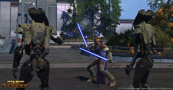 Star Wars The Old Republic - Dual Battle
