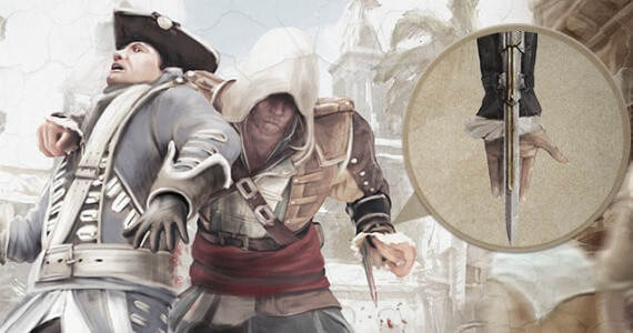 Stealth Assassin's Creed 4 Inforgraphic