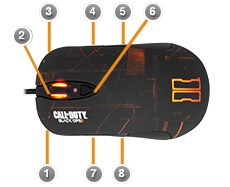 SteelSeries Black Ops 2 Mouse Review Buttons