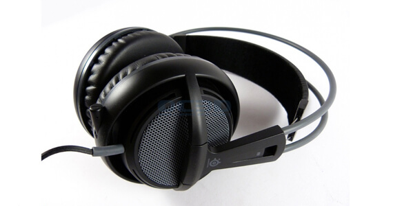 SteelSeries Siberia V2 Headset Review Earcups