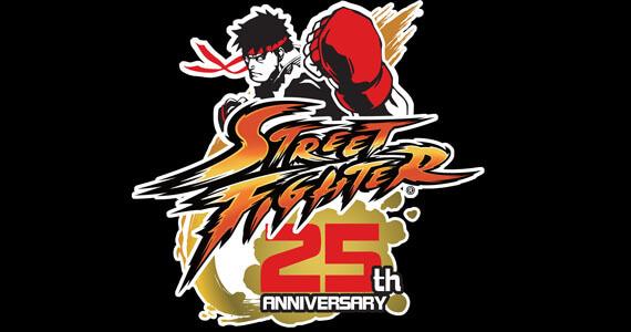 Street Fighter 25th Anniversary logo