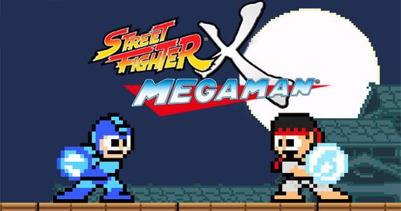 Mega Man Returns in 'Street Fighter X Mega Man'