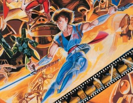 Strider Original Arcade Game